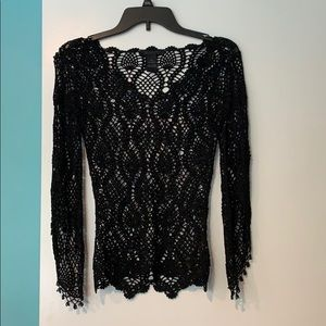 Hand knit top